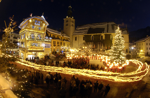 Christmas Eve in Megeve