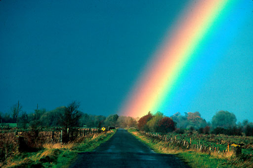 Regenbogen, Irland rainbow in Ireland